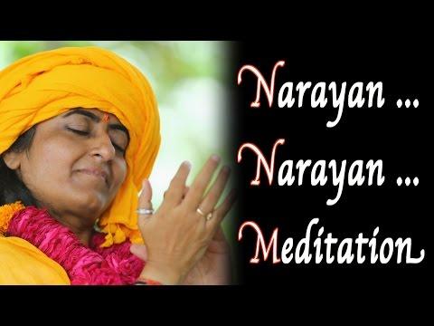 Narayan Narayan Chanting Meditation Song [ Meditation Music Relax Mind ] -Prernamurti Bharti Shriji