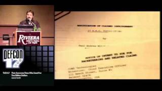 Video DEFCON 17: That Awesome Time I Was Sued For Two Billion Dollars MP3, 3GP, MP4, WEBM, AVI, FLV Agustus 2019