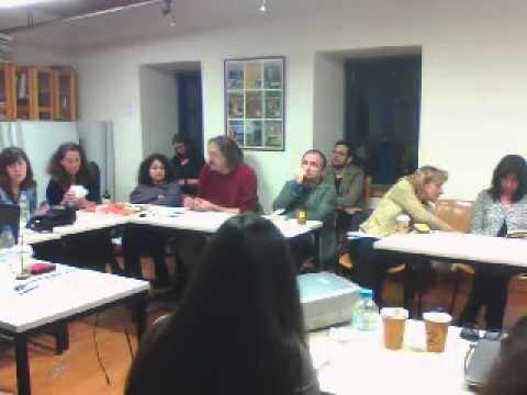 8η συνάντηση εργασίας | Τετάρτη 02/03