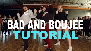 """▶ DOWNLOAD MY 'DNCR' APP -- http://bit.ly/DNCRAPP▶ 'BAD AND BOUJEE' DANCE VID -- https://youtu.be/vXUQcr1kTHQ▶ INSTAGRAM: http://instagram.com/MattSteffanina▶ TWITTER & SNAPCHAT: @MattSteffanina""""BAD AND BOUJEE"""" - Migos FEAT. Lil Uzi Vert Dance TUTORIAL  @MattSteffanina Choreography Is this video BLOCKED in your country? Find out how you can help me fix it here: https://youtu.be/BI5-VNiY5p8 SOCIALS: @MattSteffanina ▶ TUTORIALS: https://youtube.com/dancetutorialslive▶ INSTAGRAM: http://instagram.com/MattSteffanina▶ TWITTER: http://twitter.com/MattSteffanina▶ WEBSITE: http://MattSteffanina.com▶ BOOKING - MattSteffanina@gmail.com▶ HATS & SHIRTS: http://MattFreestyle.com▶ DOWNLOAD my dance app 'JusMove' for iPhone & Android » http://appsto.re/us/7cHU3.iSong: """"BAD AND BOUJEE"""" - Migos FEAT. Lil Uzi VertChoreography by: MattSteffaninaEdited by: Sam SteffaninaFilmed by: Matt Steffanina_____________________________Other Dance/Choreography VIDEOS:""""HAIR"""" - Little Mix ft Sean Paul » https://youtu.be/zO11uVycQCg""""CONTROLLA"""" - Drake » https://youtu.be/UEw20QPFov0""""WORK"""" - Rihanna » https://youtu.be/NEtt7VQwoBc""""FORMATION"""" - Beyonce » https://youtu.be/BdC8M-RVego""""LOVE YOURSELF"""" - Justin Bieber » https://youtu.be/yo_7nQ0sLsw""""SLOW MOTION"""" - Trey Songz » https://youtu.be/ymZvd-0Q_QM""""JUMPMAN"""" - Drake » https://youtu.be/qe1M2FsmgDE""""WHERE ARE U NOW"""" - Justin Bieber » https://youtu.be/H4UFObeHFwI"""