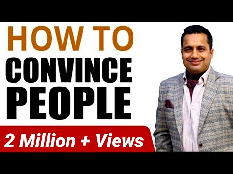 How to Convince People Convincing Skills in Hindi by Vivek Bindra