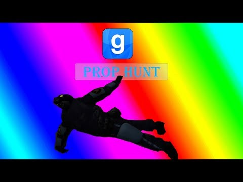 GMOD Prop Hunt Funny Moments - MANY MISTAKES, EPIC JUKES