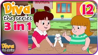 Video Seri Diva 3 in 1   Kompilasi 3 Episode ~ Bagian 12   Diva The Series Official MP3, 3GP, MP4, WEBM, AVI, FLV Juli 2017