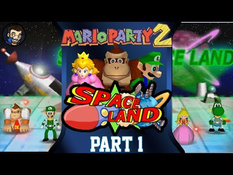 Mario Party 2 | Space Land - Part 1/5