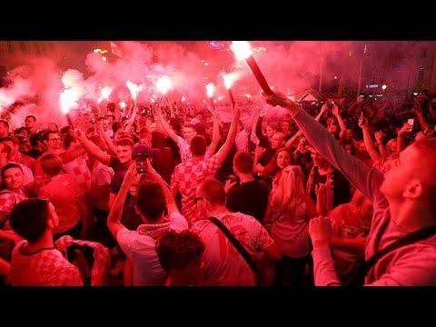 Μουντιάλ: Ρωσία και Κροατία πανηγύρισαν τη νίκη τους στα πέναλτι!…