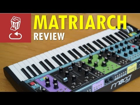 Moog MATRIARCH: Review, Full Tutorial And Patch Ideas