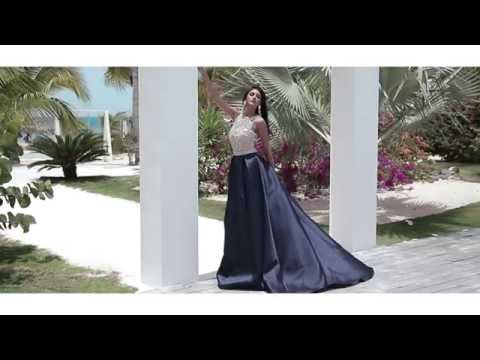 A Beach Reflection: JOVANI Couture Photo Shoot 2015