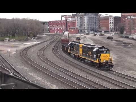 Kansas City Area Rail Action March 2017