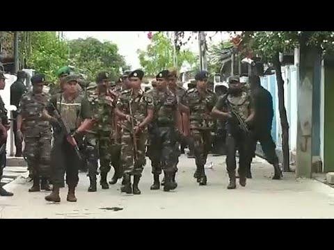 Σρι Λάνκα: Συνεχίζεται το ανθρωποκυνηγητό