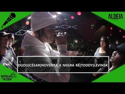 César, Dudu e Noventa x Negra Rê, Toddy e Levinsk | BDA 2 ANOS | Batalha de Trio