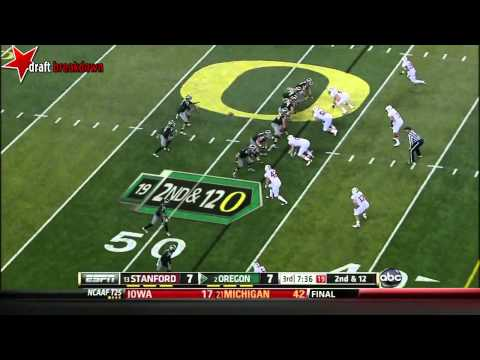 Colt Lyerla vs Stanford (2012) video.