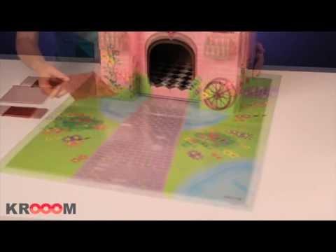 """3D-конструктор Krooom """"Волшебный замок принцессы Тринни"""""""