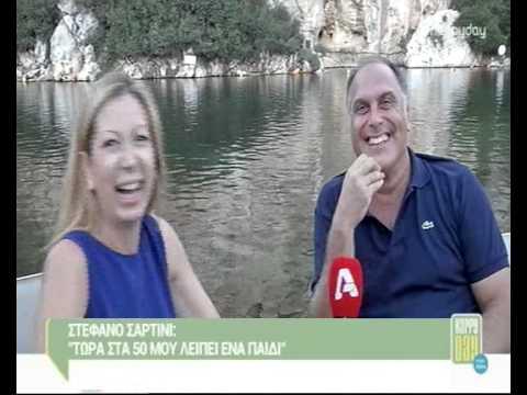 Intervista: Happy day - Alpha tv Grecia