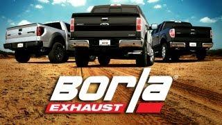 BORLA Exhaust F150 Raptor, 5.0L & EcoBoost Shootout!
