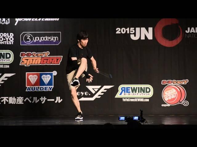 C3yoyodesign present JN 2015 2A Champion Takuma Yamamoto