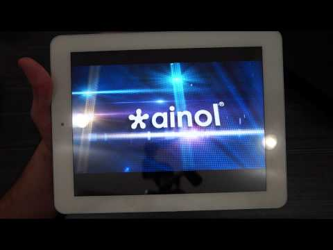 "Ainol Novo 9 Spark Quad Core A7 Android 4.1.1 9.7"" Retin IPS Tablet PC Unboxing"