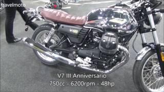2. The new 2017 MOTO GUZZI V7 III Anniversario 750cc
