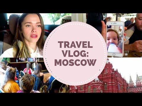 Moscow Travel Vlog + Biological Dad Update + First Ever Meet Up! (видео)