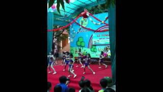 Nhảy aerobic thiếu nhi