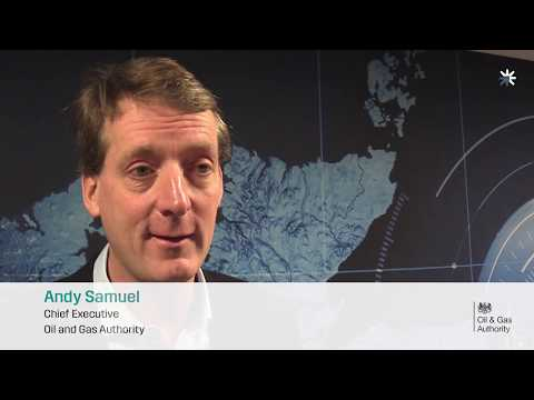 Andy Samuel - year one of the Oil & Gas Technology Centre