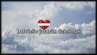 Dažādas latviešu dziesmas
