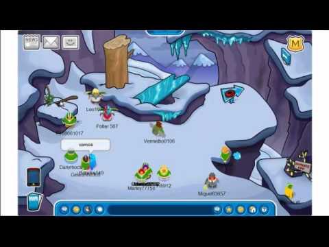 Club Penguin - Como Chegar no Topo da Montanha Mais Alta!