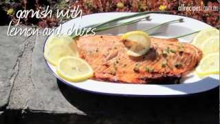 Barbecued Brown Sugar and Soy Salmon