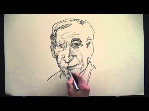 Portraitzeichnen, Bleistift.wmv. Drawing face