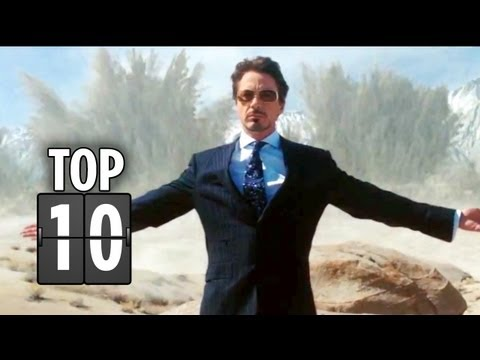 Tony - Subscribe to TRAILERS: http://bit.ly/sxaw6h Subscribe to COMING SOON: http://bit.ly/H2vZUn Like us on FACEBOOK:http://goo.gl/dHs73. Top Ten Tony Stark Quotes...