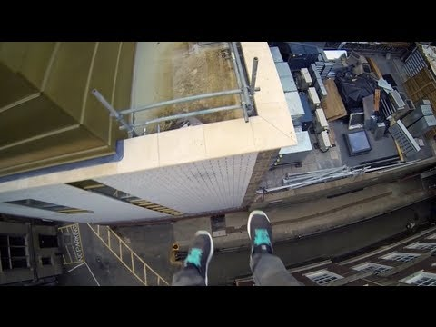 Cambridge Parkour POV first person parkour video