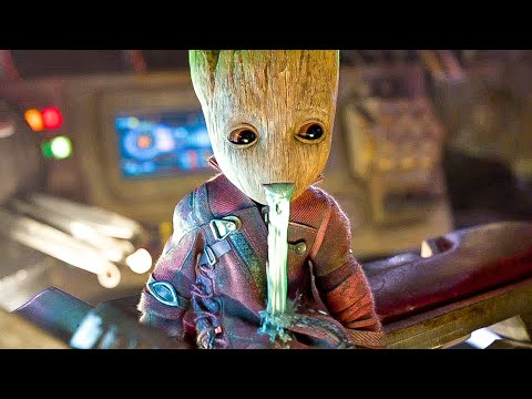Best Baby Groot Movie Clips + Moments - GUARDIANS OF THE GALAXY 2 (2017)