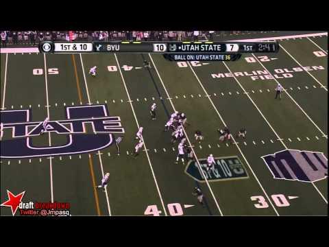 Kyle Van Noy vs Utah St. 2013 video.