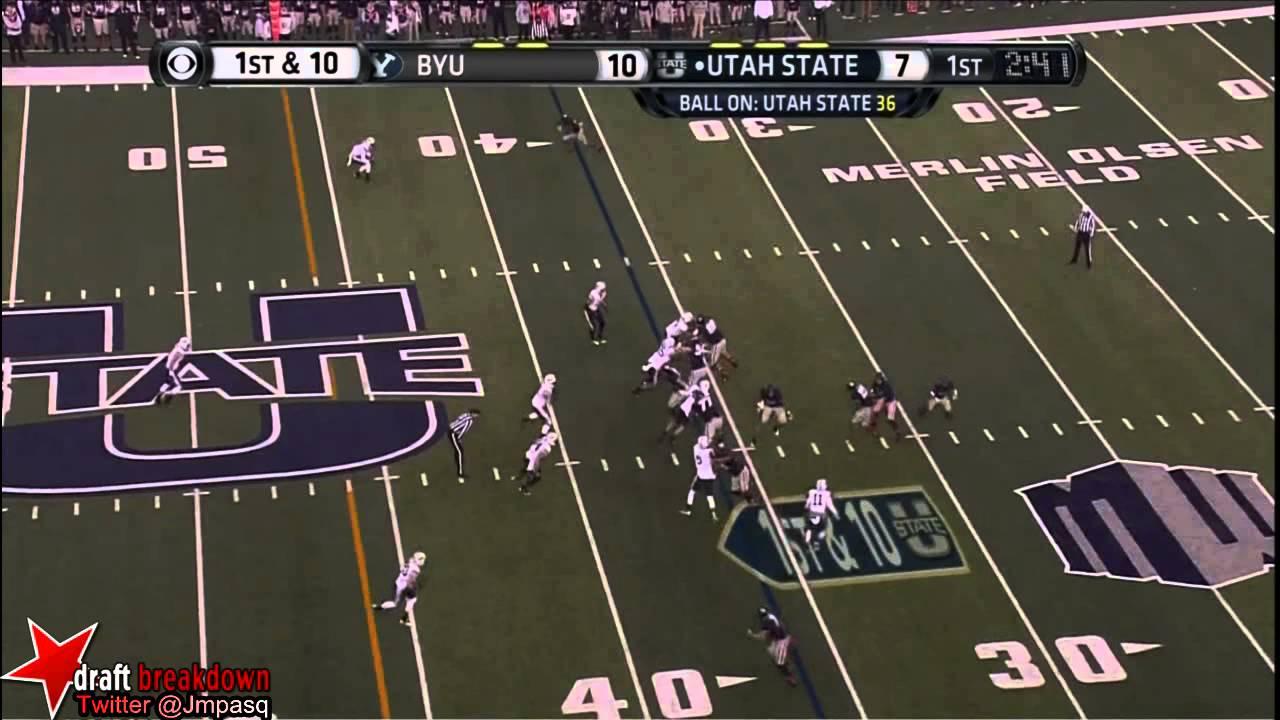 Kyle Van Noy vs Utah State (2013)