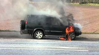 Land Rover Discovery 2 On Fire Part 1