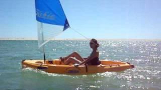 Hobie Kayak  Algarve Sailing From Faro To Olhão