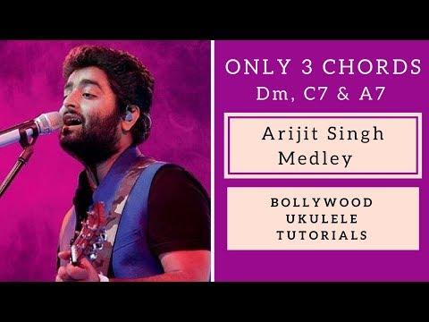 Video Only 3 Chords | Arijit Singh Medley | Easy Ukulele Tutorial download in MP3, 3GP, MP4, WEBM, AVI, FLV January 2017