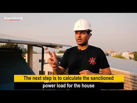 How to set up a solar plant on your roof and earn money
