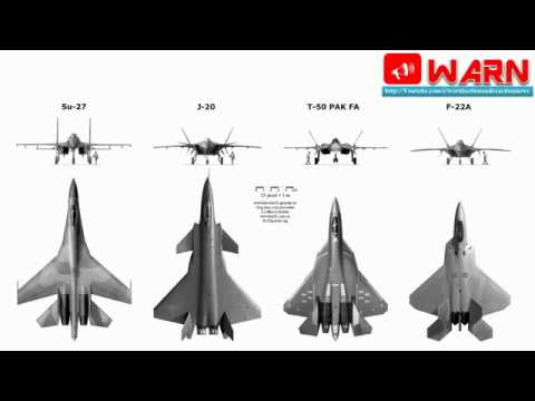 Are The Chinese J-20 & J-31 More Advanced Than The Russian T-50 Pakfa?