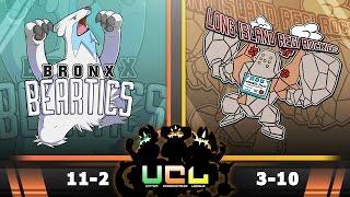 Bronx Beartics vs L.I. Regirockies [UCL S2W14] Pokemon Omega Ruby & Alpha Sapphire Live Wi-Fi Battle by PokeaimMD