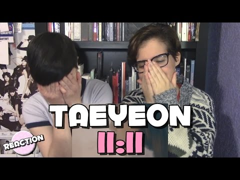 TAEYEON (태연) - 11:11★ MV REACTION (видео)