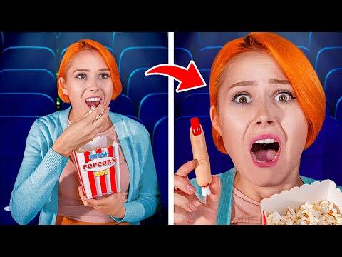 15 смешных пранков в кино / Смешные розыгрыши
