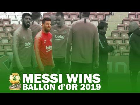 Messi WINS Ballon d'Or 2019 | Football Legends Praise Lionel