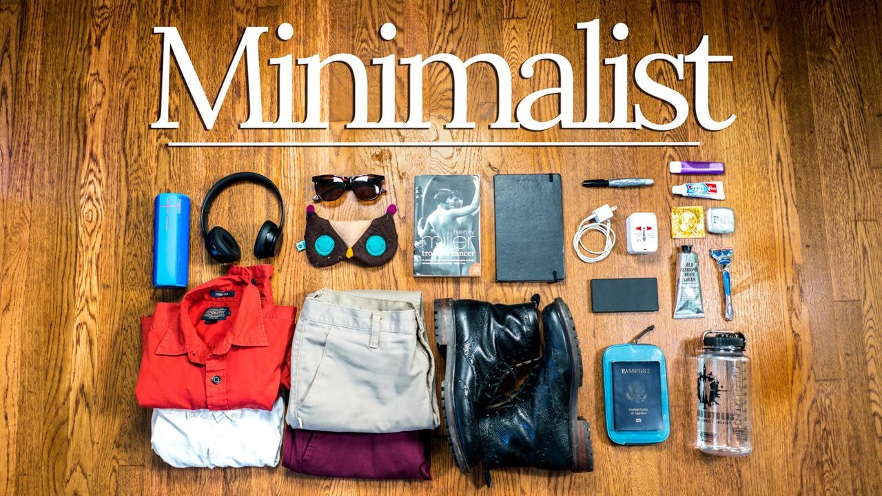 Picture of Minimalist Do it yourself Drive Basic principles  Skilled Packing Recommendations ✈🌎
