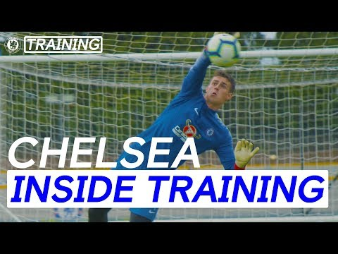 Video: Arrizabalaga's Incredible Saves In First Training Session As A Blue | Inside Training