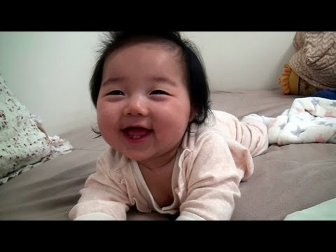 But - For more, Visit to http://facebook.com/WeLoveYerin 6 months old at the time of April 6, 2011. YouTube Best UGC Awards 2011 CNN: The Shot: Adorable, smiling b...