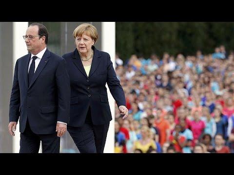 Γαλλία: Ολάντ και Μέρκελ γιόρτασαν το «πνεύμα του Βερντέν»