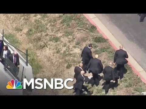 Watch: Trump Forced To Walk To GOP Convention Due to Protests