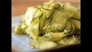Insalata giapponesi di cetrioli