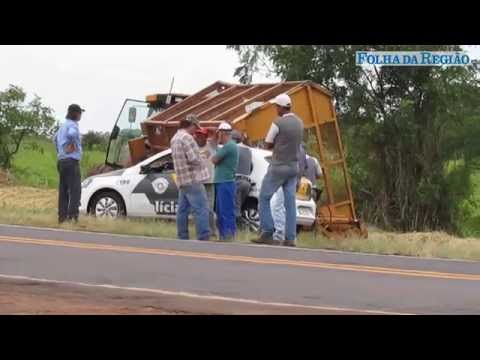 Tombamento de carroceria em ponte