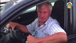 Непослушный, пьяный и старый водятел на МКАДе
